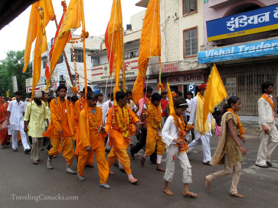 Parade in the Streets of Jaipur