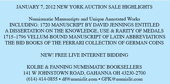 Kolbe-fanning Sale 123 E-Sylum formated Ad