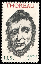 http://en.wikipedia.org/wiki/File:Thoreau1967stamp.jpg Picture of Thoreau