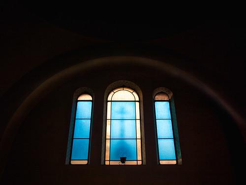 Chiesa Russa Ortodossa [vetrata absidale]