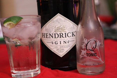 Hendrick's Gin and Q Tonic