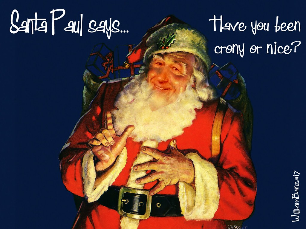 SANTA PAUL'S PRE-CHRISTMAS MESSAGE