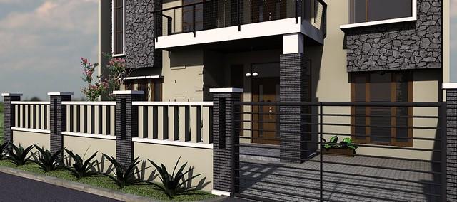 desain rumah modern minimalis di daerah rawamangun0