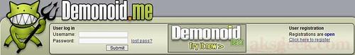 Free demonoid.me registration
