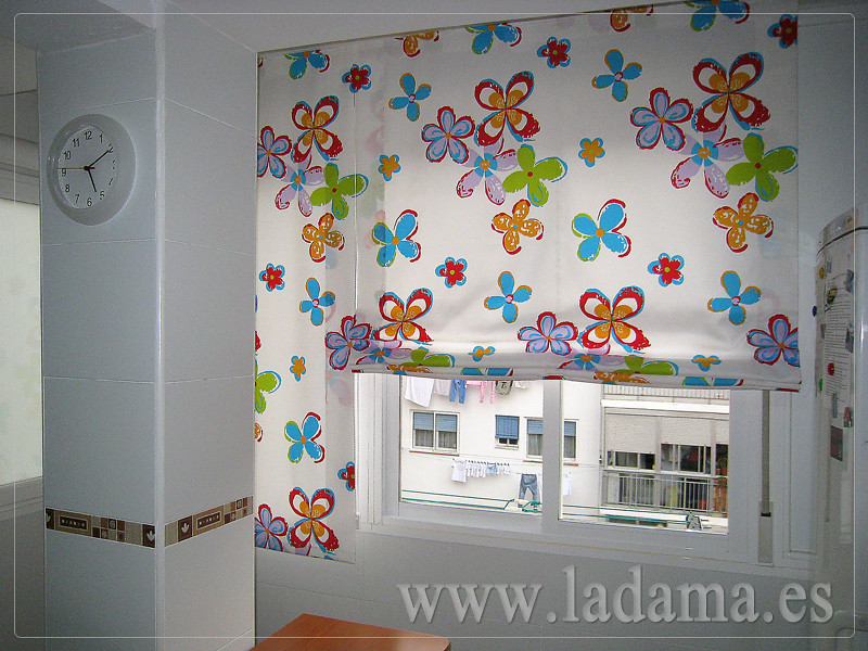 Fotograf as de cortinas de cocina la dama decoraci n for Decoracion de cortinas para cocina