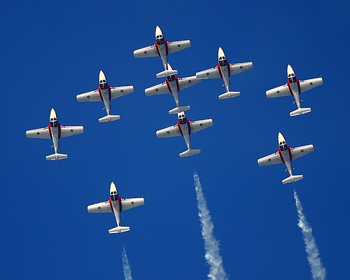 IMG_1901 Snowbirds of Royal Canadian Air Force, San Francisco Fleet Week 2011 by ThorsHammer94539