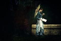 Cosette in the Garden