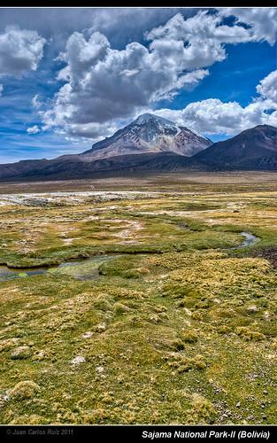 parque mountain snow verde clouds volcano nieve bolivia nubes montaña nacional frontera pradera nevado altiplano volcan oruro sajama patacamaya