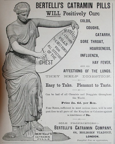Bertelli's Catramin Pills