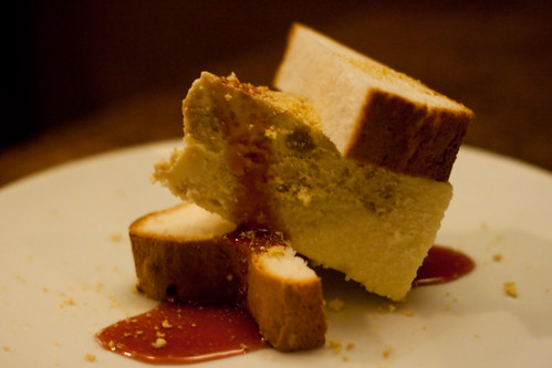 PB&J Cheesecake at Root 174