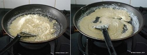 How to make kaju katli step 3
