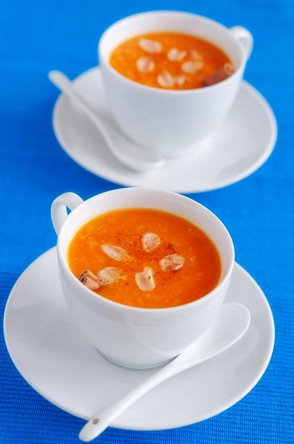 pumpkin-orange soup