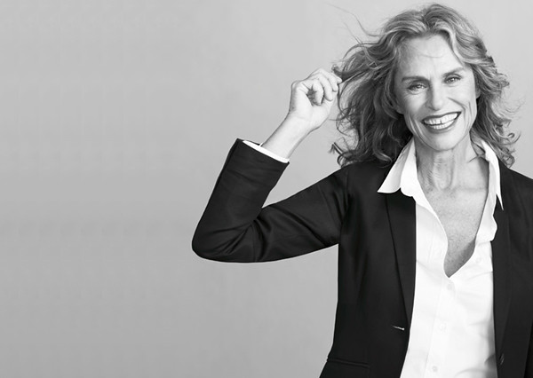 lauren_hutton_jcrew_white_blouse