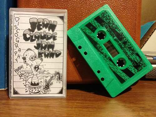 Jean Claude Jam Band - Discography Cassette