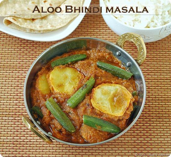 Aloo-bhindi-gravy