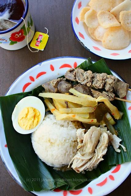 Jane's Simple Kitchen: Nasi Liwet Solo