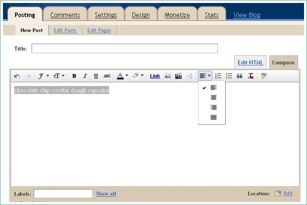 text center in compose