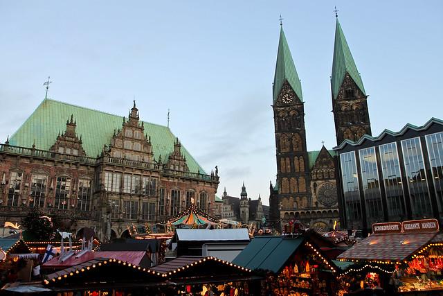 Bremen. Town hall