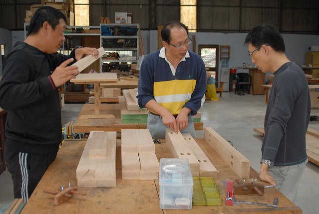 木作堂 木工桌製作 20111215_03