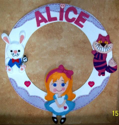 Porta Maternidade Alice by edilmarasantiago