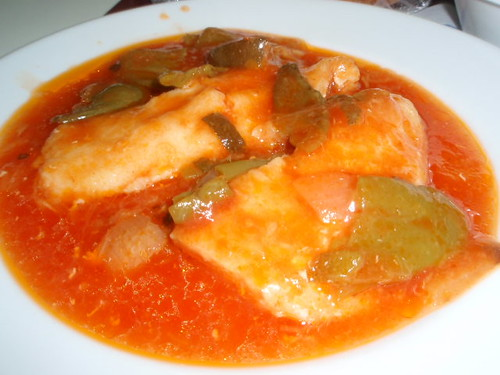 Zaragoza | Cafetería Facultad Económicas | Pescado en salsa