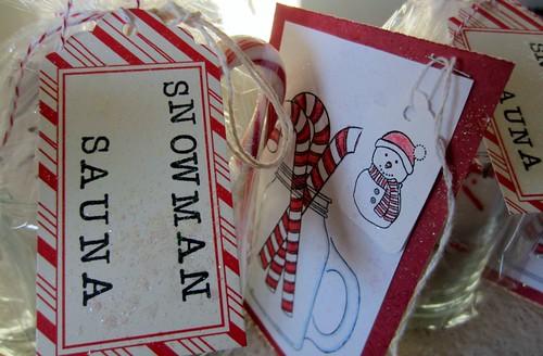 Snowman Sauna 5