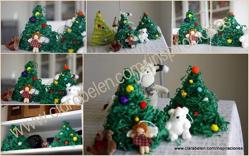 Rbol De Navidad Con Tapones De Corcho