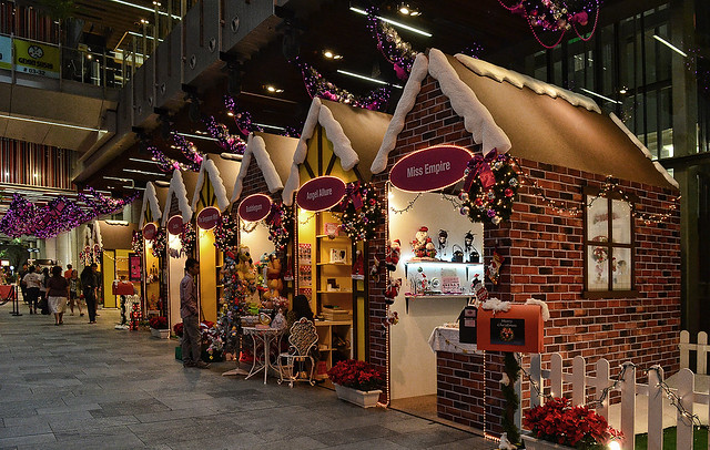Christmas at Orchard Central, Singapore