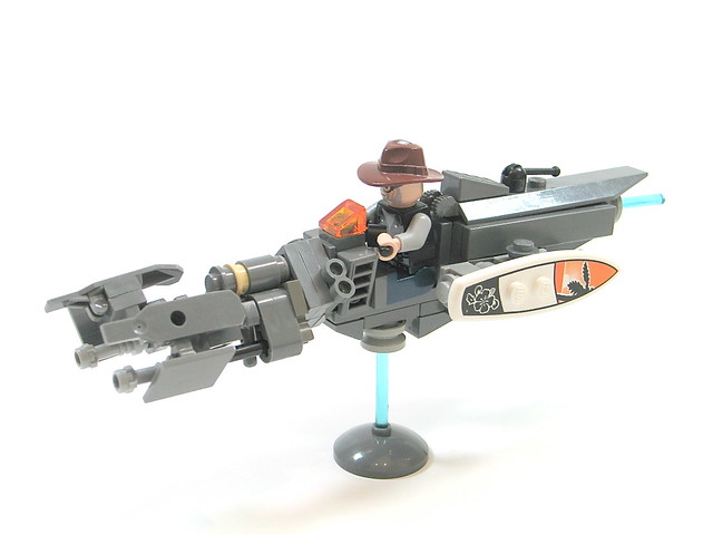 space police: elite hover bike unit: A LEGO® creation by Ben ...