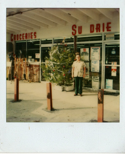 Christmas Polaroid