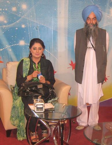 A s cheema ruby anum punjabi t v lahore pakistan during for Asma t salon lahore