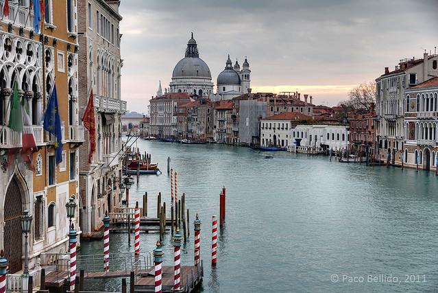 Vista desde el Puente dell'Accademia. © Paco Bellido, 2011