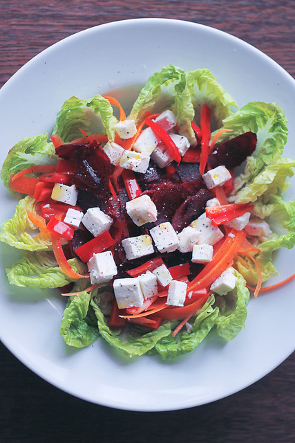 Feta, Beetroot and Carrots