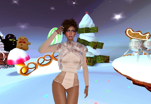 MONS - Bodysuit Natasha powder pink (With Love Hunt) by Cherokeeh Asteria