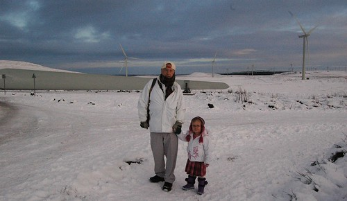 Dad and Anna at Whitelee by PhylB