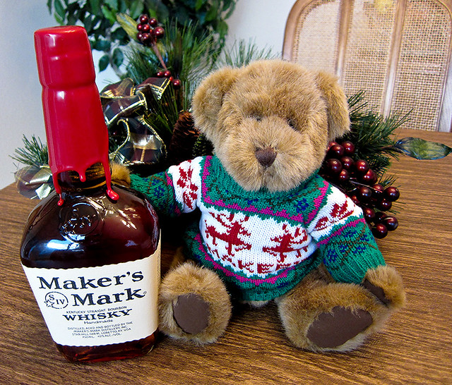 photo - Maker's Mark Bottle Sweater (now a Bear Sweater) | Flickr