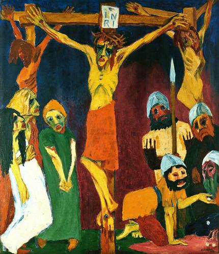 [ N ] Emil Nolde - La Crucifixion (1912) by Cea.