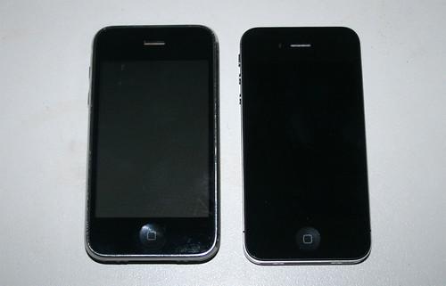 iPhone 4S - Vergleich mit iPhone 3g