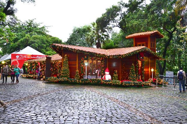 Aldeia de Natal reúne mais de 60 mil pessoas no Parque Municipal