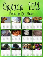 Free Oaxaca Calendar 2012