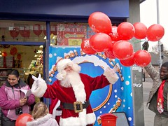 Santa at Lewisham Centre