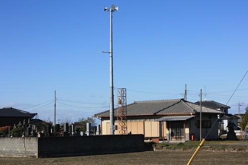 替津田の火の見櫓(熊谷市・旧大里町)