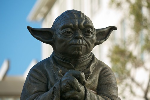 Yoda Fountain at the Presidio, San Francisco