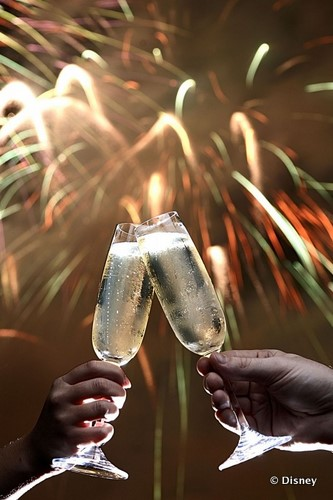 Toast the New Year In at Walt Disney World