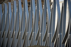 Railings, Scottish Parliament buildings