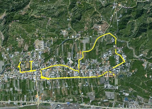 2011-9-17集集單車googlemap