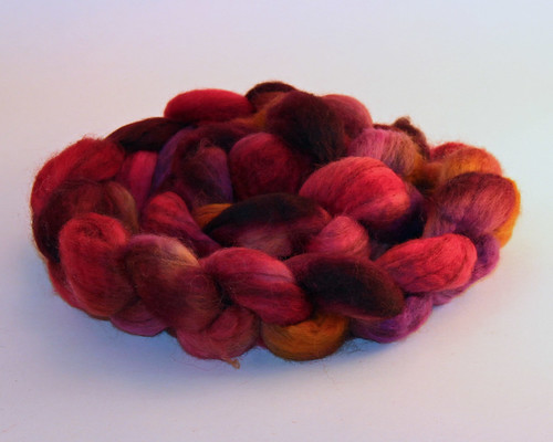 Fat Cat Knits - Mixed BFL - Sugared Beets