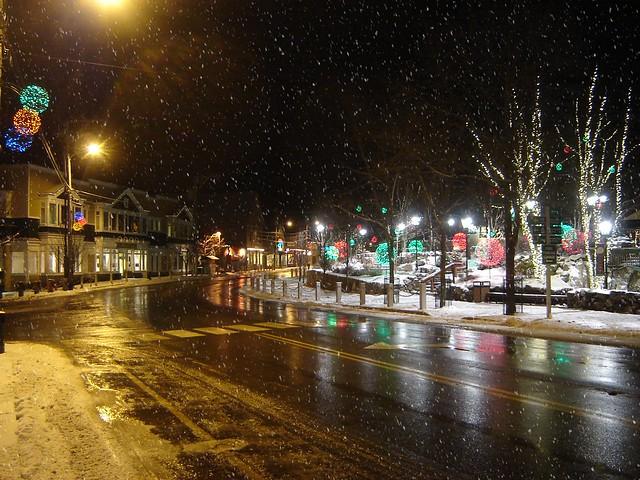 Christmas Eve, Freeport Maine
