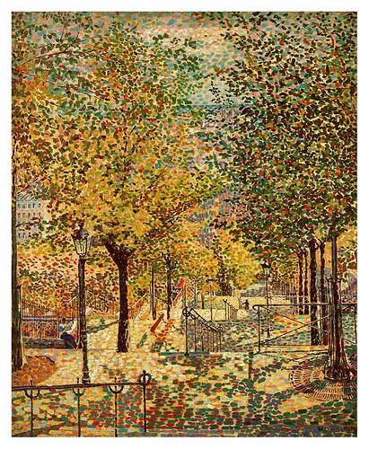 007-Primavera en Montmartre 1909-Gino Severini