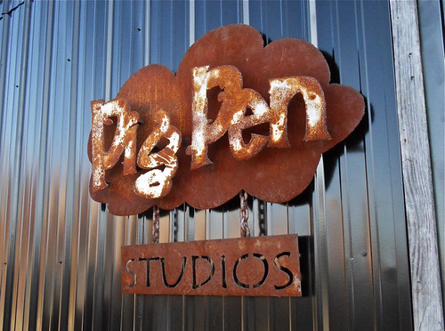 Pig Pen Studios Sign / Athens, GA